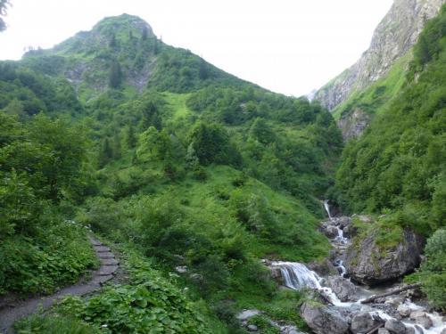 Bergweg zur Kemptner Hütte