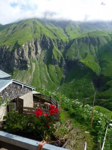 Ausblick von der Kemptner Hütte