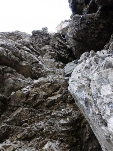 Klettersteig - kleine Kraxelei