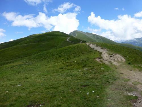 Bergüberquerung Krahberg