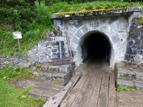 Eingang zum Gallruttstollen