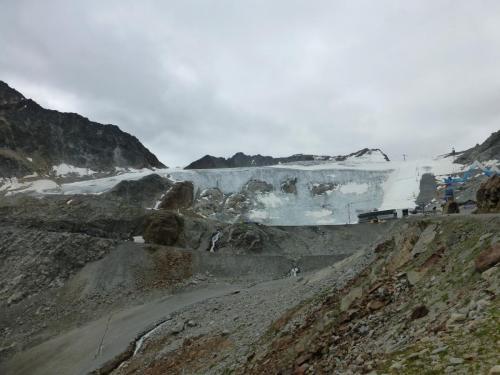 Rettenbach Gletscher von der Söldener Seite