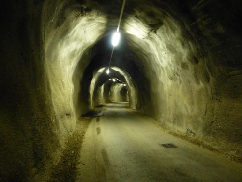 E-Werk - Tunnel zur Umleitung
