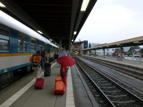 Bahnhof Oberstdorf - Die Ankunft