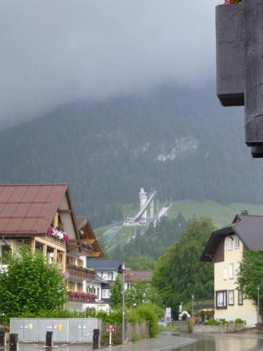 Oberstdorfer Skischanze - ...im Sommer