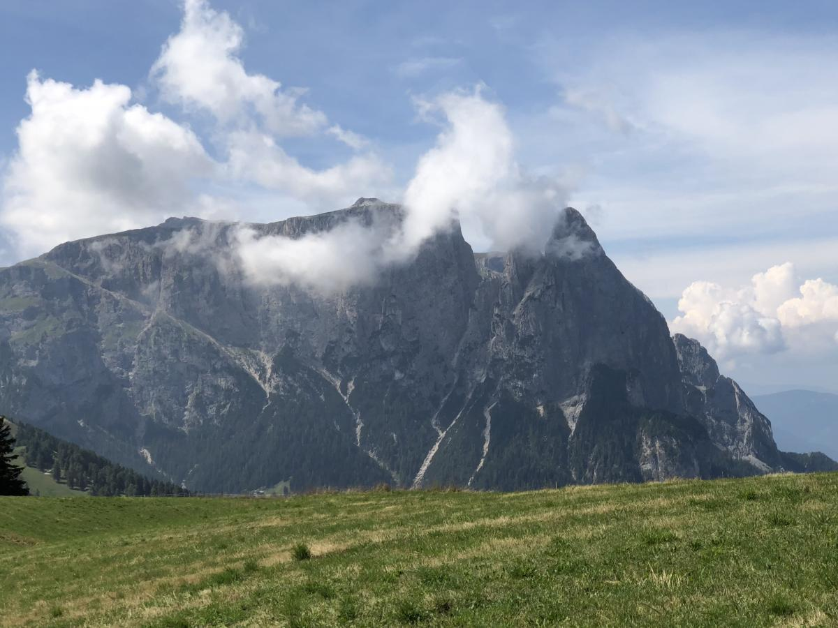 Blick in die Dolomiten