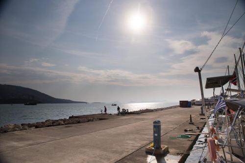 Hafenblick von Plataria