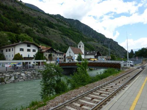 Bahn in Staben